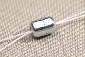 Cache noeud gris anodisé - Achetez-le en ligne sur Laloux Stores !