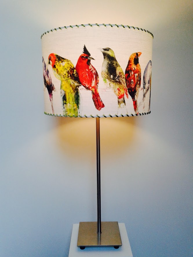 Lampe décorative de table avec oiseaux «Volière». - Achetez-le en ligne sur Laloux Stores !
